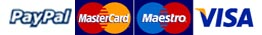 We accept all major credit/debit cards